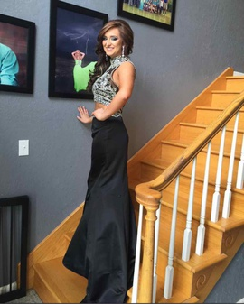 Sherri Hill Black Size 4 Mermaid Dress on Queenly