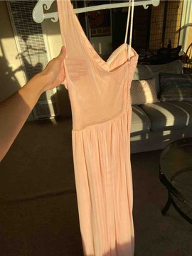 B. Darlin Pink Size 4 Straight Dress on Queenly