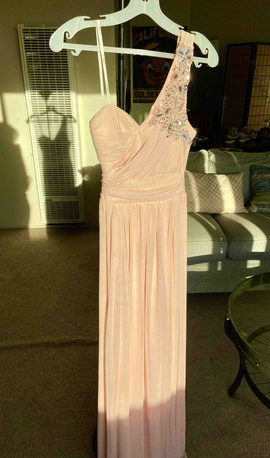 Queenly size 4 B. Darlin Pink Straight evening gown/formal dress