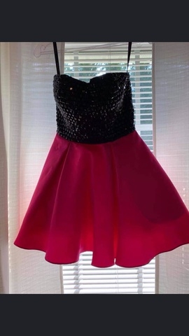 Queenly size 0 Sherri Hill Pink Cocktail evening gown/formal dress