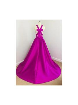 Jovani Pink Size 8 Belt A-line Dress on Queenly