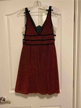 Johnathan Kayne Red Size 6 Homecoming Cocktail Dress on Queenly
