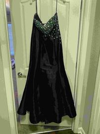Mac Duggal Black Size 16 Corset Mermaid Dress on Queenly
