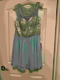 Alyce Paris Blue Size 16 Plus Size Cocktail Dress on Queenly