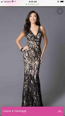 Jovani Black Size 8 Winter Formal Mermaid Dress on Queenly