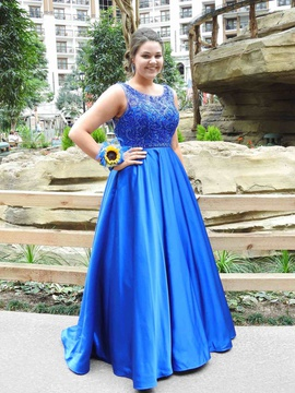 Queenly size 16 Madison James Blue Ball gown evening gown/formal dress