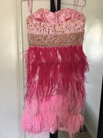 Mac Duggal Pink Size 2 Homecoming Cocktail Dress on Queenly