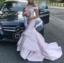 Jovani Pink Size 4 Mermaid Dress on Queenly