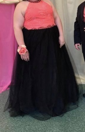 Pink Size 24 Ball gown on Queenly