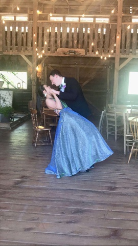 Jovani Blue Size 0 Prom Mermaid Dress on Queenly