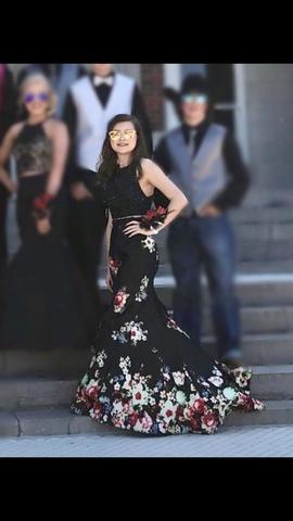 Rachel Allan Black Size 2 Mermaid Dress on Queenly