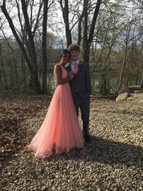Sherri Hill Pink Size 2 Tulle Prom Ball gown on Queenly