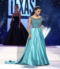 Queenly size 0  Blue Ball gown evening gown/formal dress