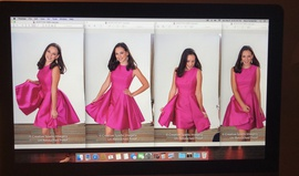 Ashley Lauren Pink Size 4 Interview Pockets Cocktail Dress on Queenly