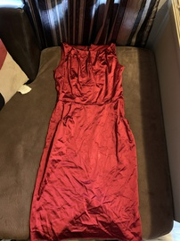 Queenly size 6  Red Cocktail evening gown/formal dress