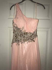 Queenly size 2 Nadias Boutique Pink Ball gown evening gown/formal dress