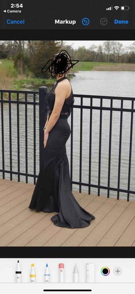 Rachel Allan Black Size 4 Prom Train Dress on Queenly