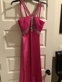 Cache Pink Size 6 Prom Train Dress on Queenly