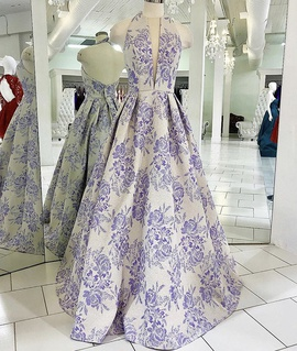 Sherri Hill Multicolor Size 6 Floral Ball gown on Queenly