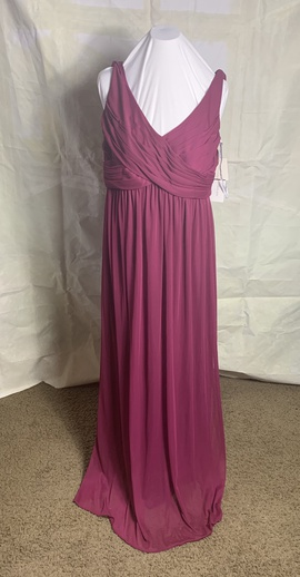 David's Bridal Red Size 16 Plus Size A-line Dress on Queenly