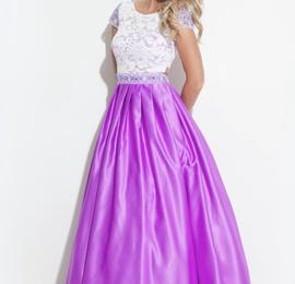 Queenly size 16 Rachel Allan Purple Ball gown evening gown/formal dress