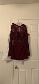 Rachel Allan Red Size 4 Homecoming A-line Dress on Queenly