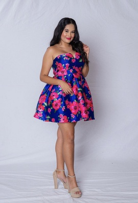 Multicolor Size 10 Cocktail Dress on Queenly