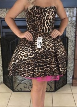 Sherri Hill Multicolor Size 4 Cocktail Dress on Queenly