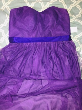 Purple Size 16 Straight Dress on Queenly