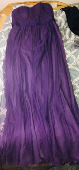 Queenly size 16  Purple Straight evening gown/formal dress