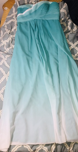 Queenly size 16  Multicolor Straight evening gown/formal dress