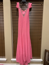 Johnathan Kayne Pink Size 6 A-line Dress on Queenly