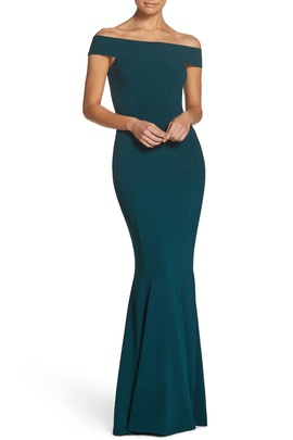 Dress the Population Green Size 0 Mermaid Dress on Queenly