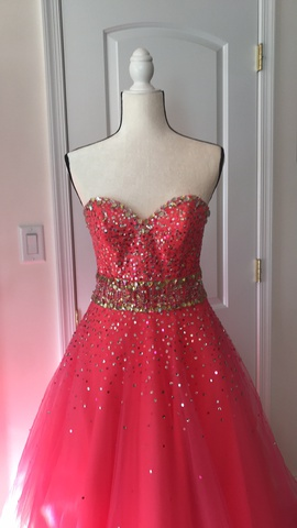 Pink Size 4 A-line Dress on Queenly