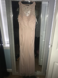 David's Bridal Pink Size 4 Straight Dress on Queenly