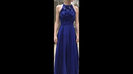 Sherri Hill Blue Size 0 Prom Straight Dress on Queenly