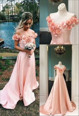 Sherri Hill Pink Size 2 Floral Prom Train Dress on Queenly