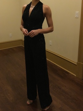 Black Size 4 Romper/Jumpsuit Dress on Queenly