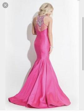 Rachel Allan Pink Size 8 Mermaid Dress on Queenly