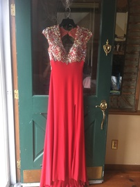 Tony Bowls Red Size 2 Side slit Dress on Queenly