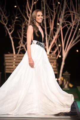 Sherri Hill Black Size 4 Custom Velvet Plunge Multicolor Ball gown on Queenly