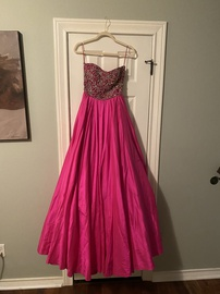 Sherri Hill Pink Size 6 Prom Pageant Ball gown on Queenly