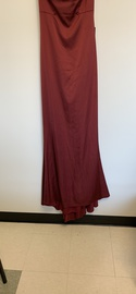 Faviana Red Size 4 Spandex Polyester Mermaid Dress on Queenly