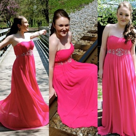Queenly size 6  Pink Straight evening gown/formal dress