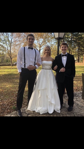 Sherri Hill White Size 4 Wedding Prom Ball gown on Queenly