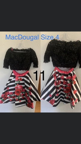 Mac Duggal Multicolor Size 4 Medium Height Cocktail Dress on Queenly
