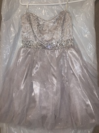 Queenly size 8 Camille La Vie Gold Cocktail evening gown/formal dress