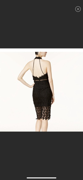 Bardot Black Size 4 Straight Dress on Queenly