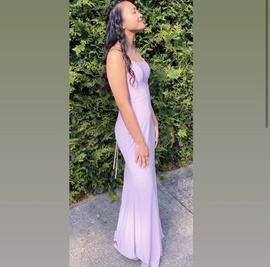 Faviana Purple Size 0 Short Height Mermaid Dress on Queenly
