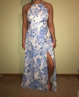 Multicolor Size 8 Side slit Dress on Queenly
